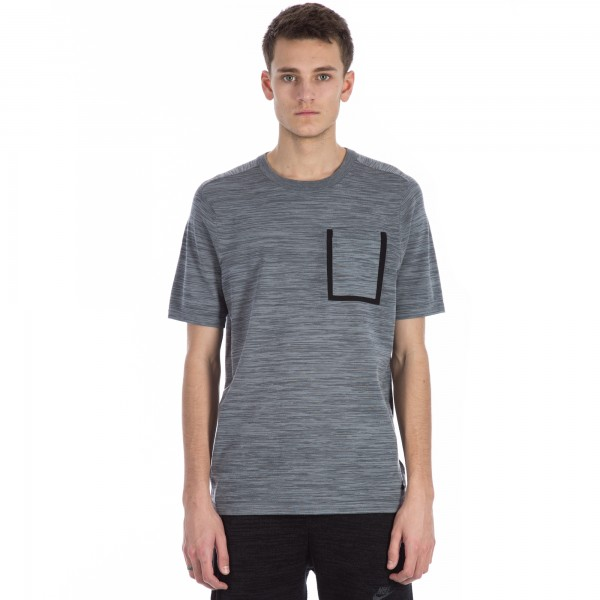 Nike Tech Knit Pocket T-shirt (Cool Grey/Dark Grey/Black)