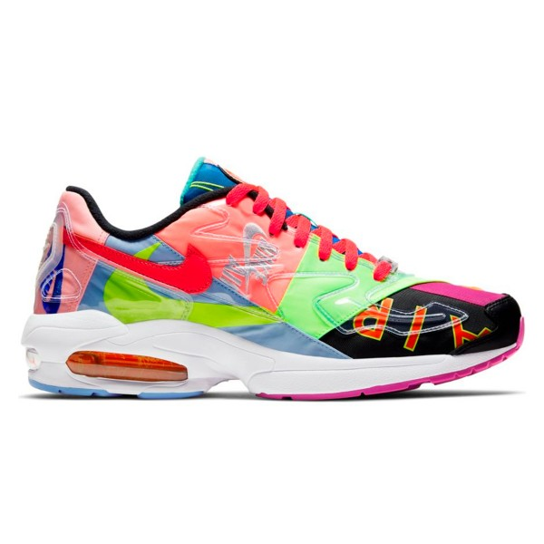 Nike x Atmos Air Max2 Light QS (Black/Light Crimson)
