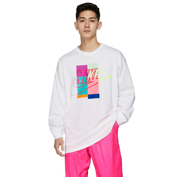 Nike x Atmos NRG Long Sleeve T-Shirt (White)