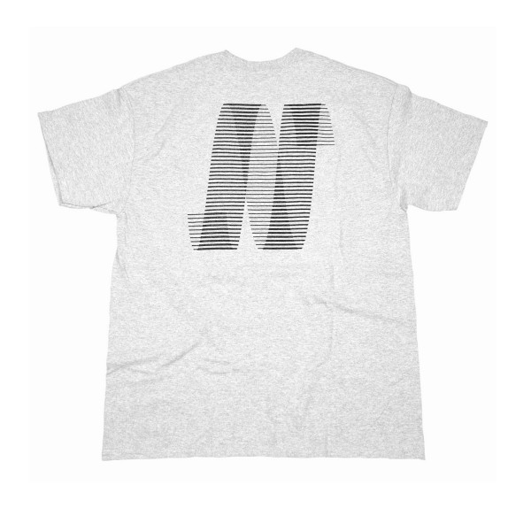 North N Logo T-Shirt (Grey/Black)