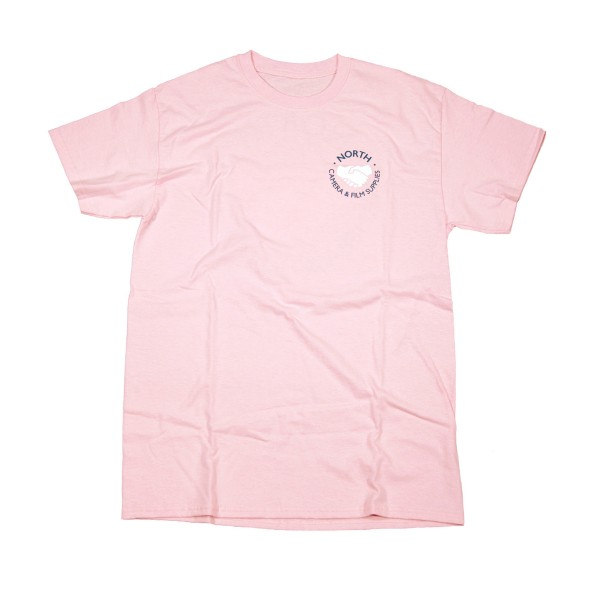 North Supplies Logo T-Shirt (Light Pink/Blue/White)