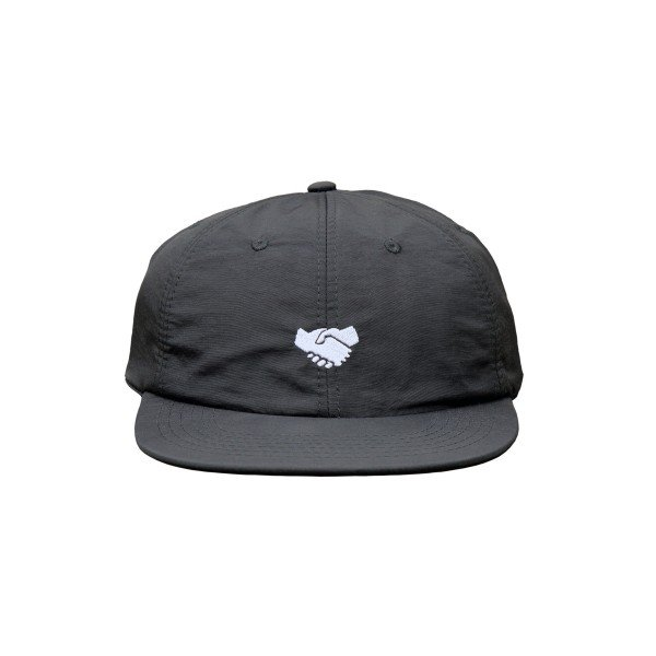 North Supplies 6 Panel Unstructured Cap (Black/White)
