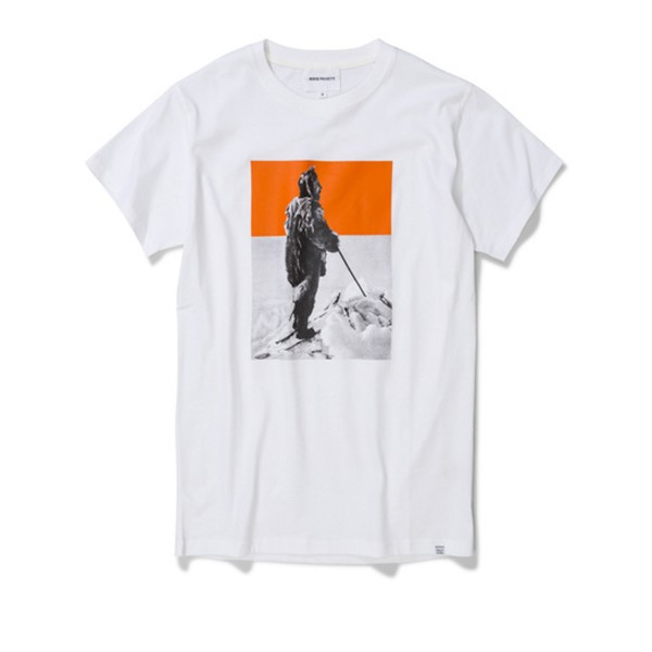 Norse Projects Amundsen T-Shirt (White)