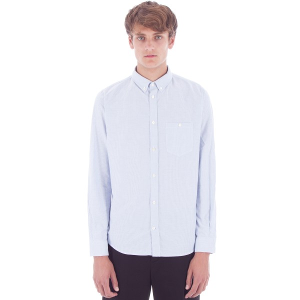 Norse Projects Anton Oxford Shirt (Navy Stripes)