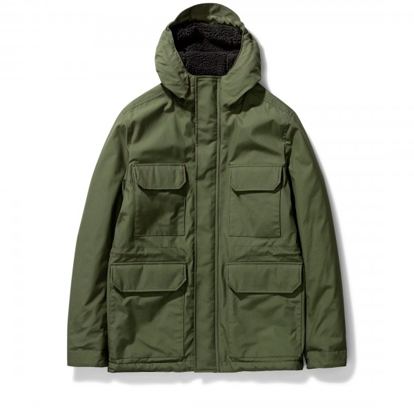 Norse Projects Cambric Cotton Nunk Jacket (Ivy Green)