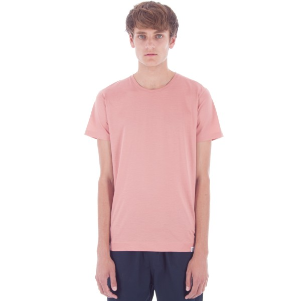 Norse Projects Esben Blind Stitch T-Shirt (Fusion Pink)