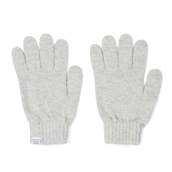 Norse Projects Gloves (Light Grey Melange)