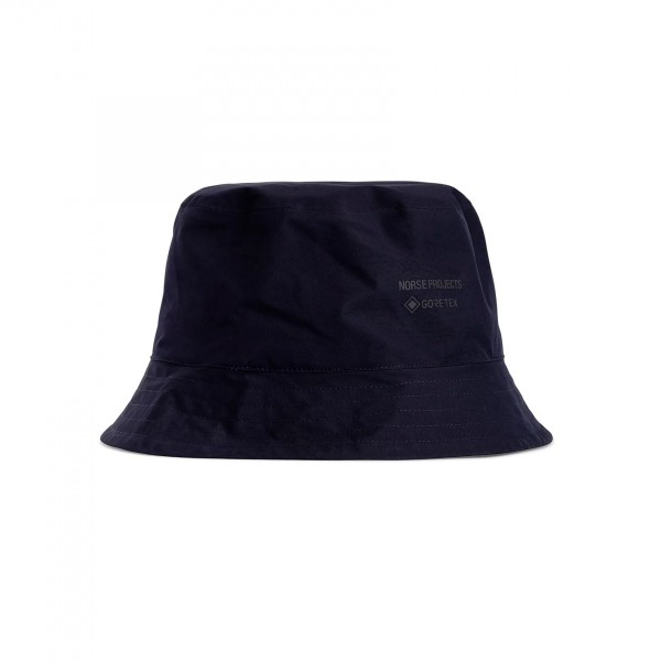 Norse Projects Gore Tex Bucket Hat (Dark Navy)