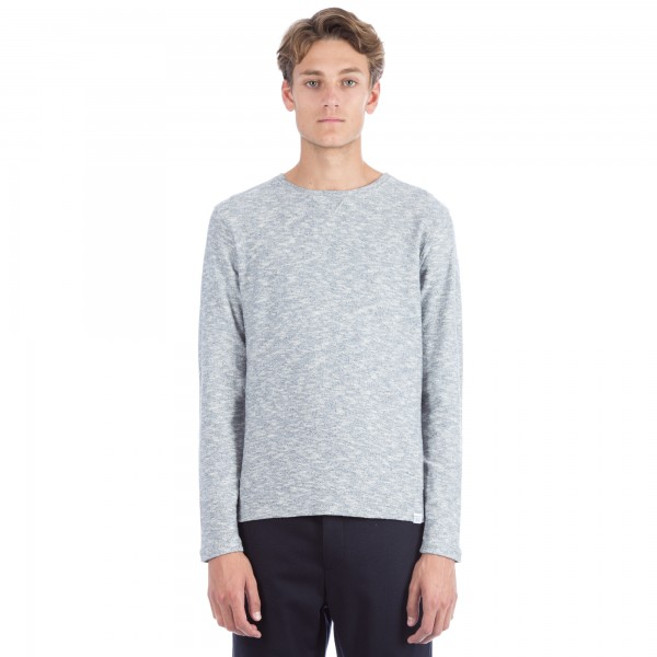 Norse Projects Halfdan Flame Crew Neck Sweatshirt (Dark Indigo)