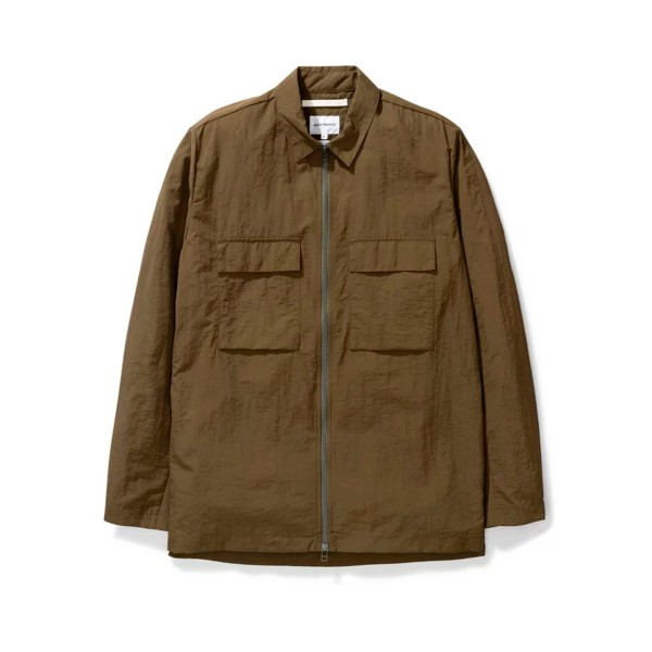 Norse Projects Jens Zip Jacket (Ivy Green)