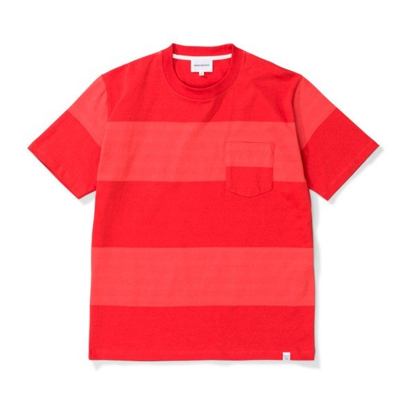 87a7ee96aa5 Norse Projects Johannes Block Stripe T-Shirt