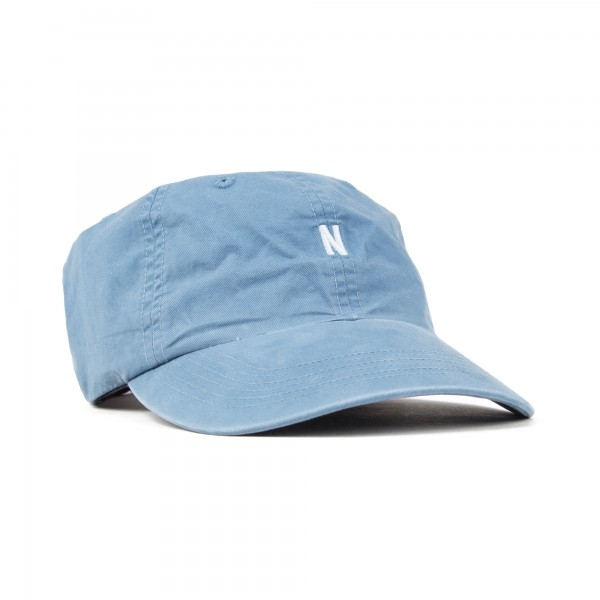 Norse Projects Light Twill Sports Cap (Marginal Blue)