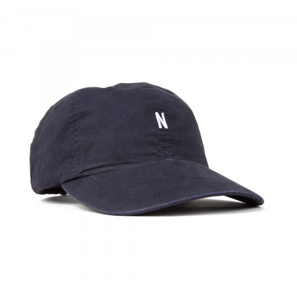 Norse Projects Light Twill Sports Cap (Navy)