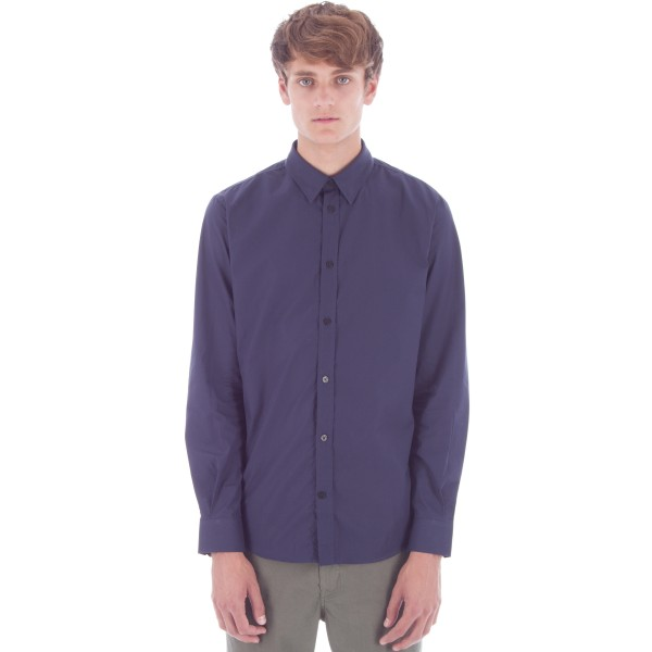 Norse Projects Osvald Classic Poplin (Navy)