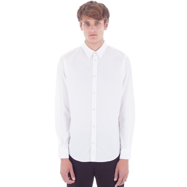 Norse Projects Osvald Classic Poplin (White)