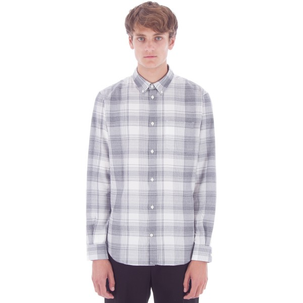 Norse Projects Osvald Light Check Shirt (Navy)