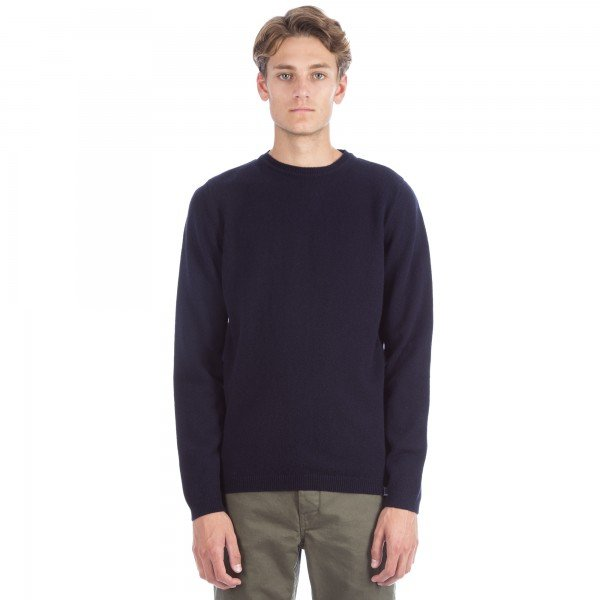 Norse Projects Sigfred Lambswool Jumper (Navy)