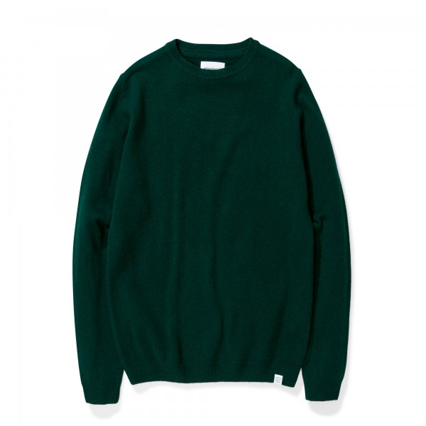 Norse Projects Sigfred Lambswool Jumper (Quartz Green)