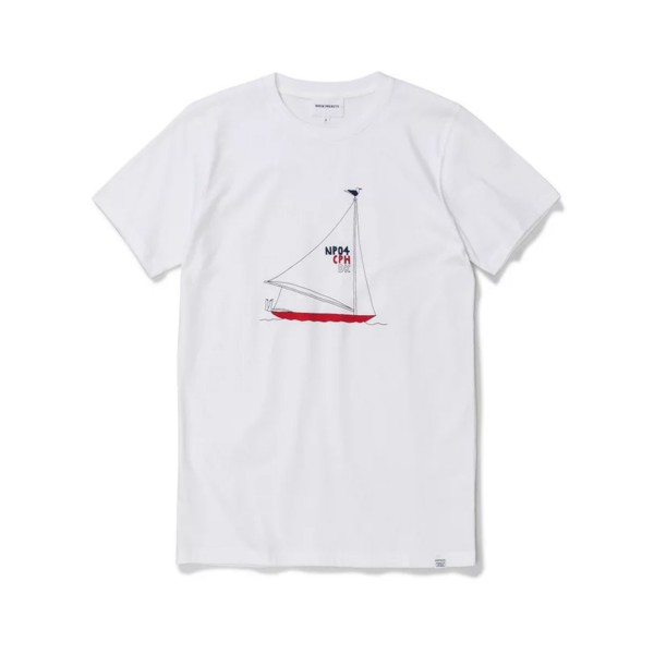 Norse Projects x Daniel Frost Boat T-Shirt (White)