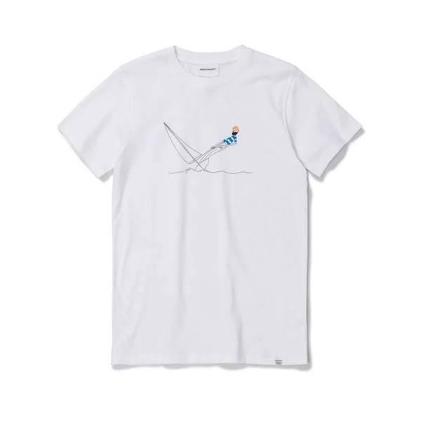 Norse Projects x Daniel Frost Hanging T-Shirt (White)