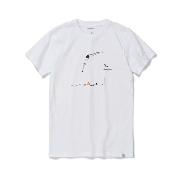 Norse Projects x Daniel Frost Jump T-Shirt (White)