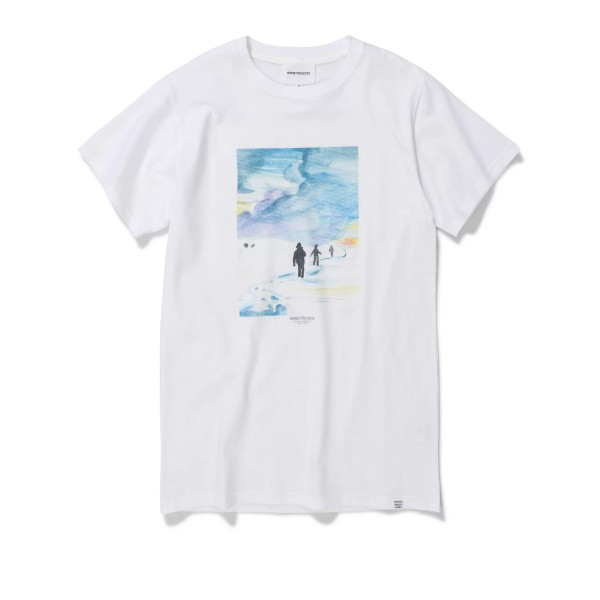 Norse Projects x Daniel Frost Trail T-Shirt (White)