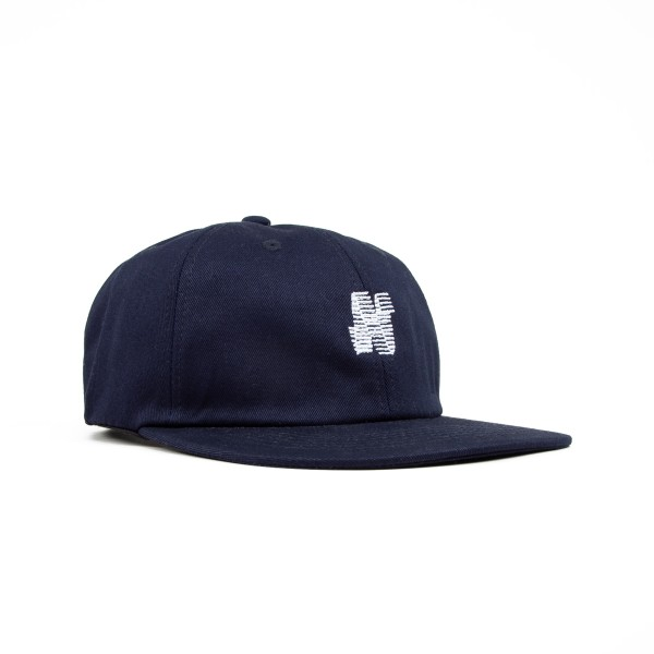 North N Logo 6 Panel Cap (Navy)