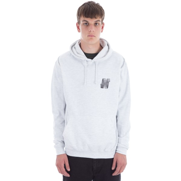 North N Logo Hooded Sweatshirt (Ash)
