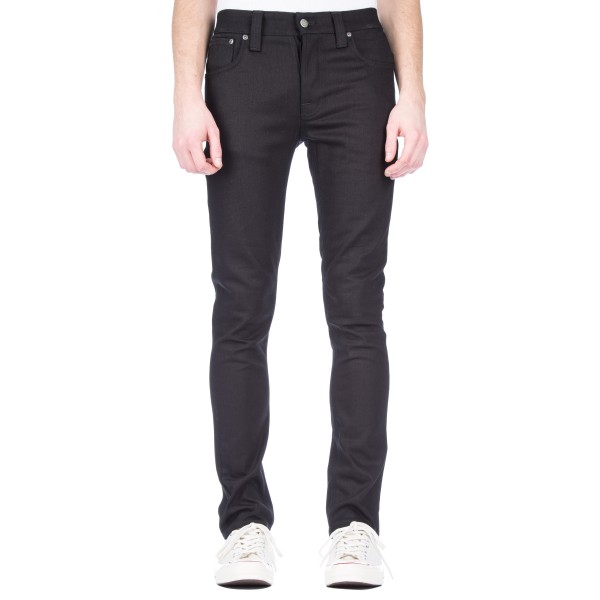 Nudie Jeans Grim Tim Denim Jeans (Black Ring)