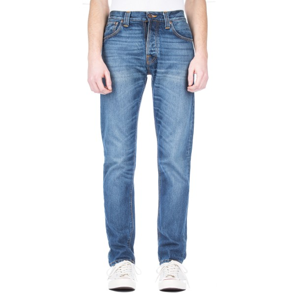 Nudie Jeans Steady Eddie Denim Jeans (True Classic)