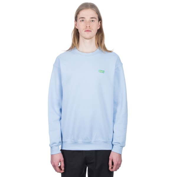 Obey Better Days Crew Neck Sweatshirt (Light Blue)