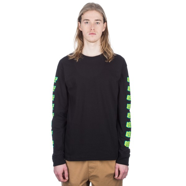 Obey Better Days Long Sleeve T-Shirt (Black)
