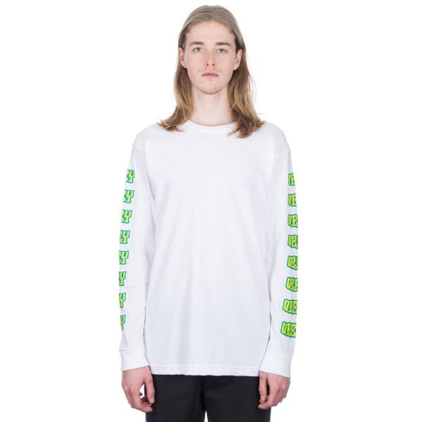 Obey Better Days Long Sleeve T-Shirt (White)