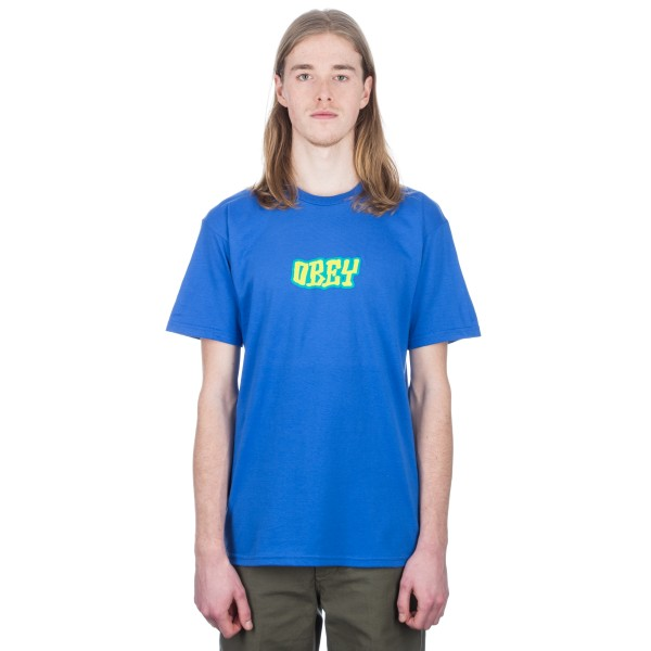 Obey Better Days T-Shirt (Royal Blue)