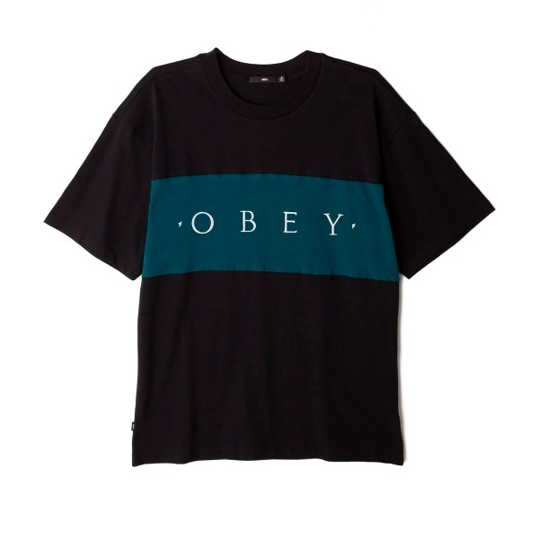 Obey Conrad Classic T-Shirt (Black Multi)