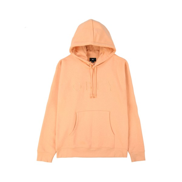 Obey Construct Pullover Hooded Sweatshirt (Dusty Coral)