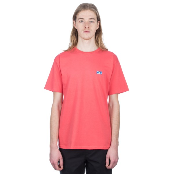Obey Flashback T-Shirt (Coral)