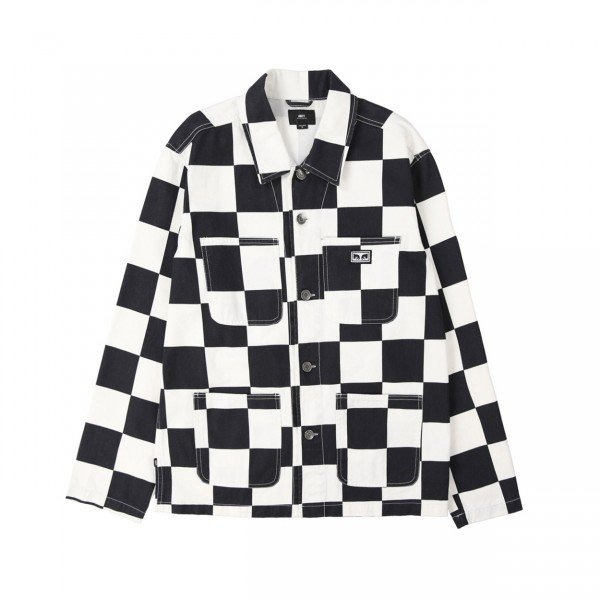 Obey Hard Work Labour Jacket (Checker)