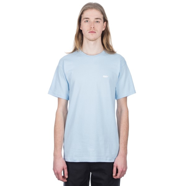 Obey Jumble LO-FI T-Shirt (Powder Blue)