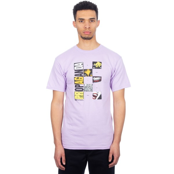 Obey Medium Is The Message T-Shirt (Lavender)