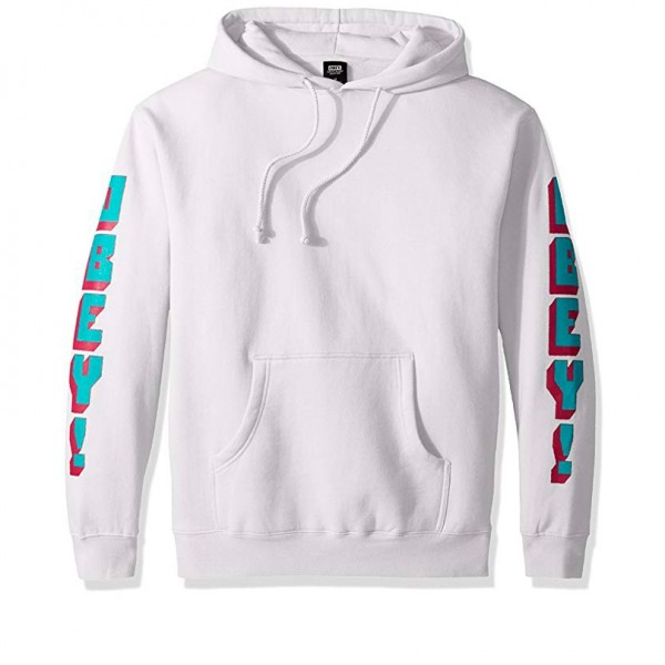 Obey New World 2 Pullover Hooded Sweatshirt (White)