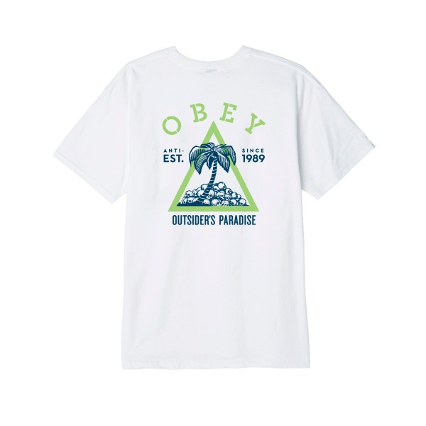 Obey Outsider's Paradise T-Shirt (White)