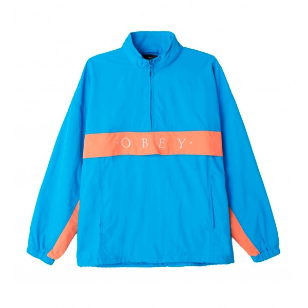 Obey Title Anorak (Sky Blue)