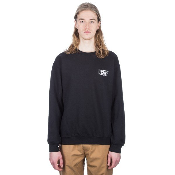 Obey Unwritten Future Crew Neck Sweatshirt (Black)