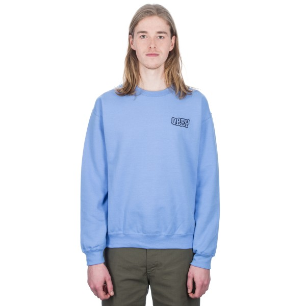 Obey Unwritten Future Crew Neck Sweatshirt (Carolina Blue)