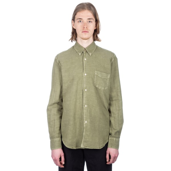 Our Legacy 1950's Shirt (Olive Cotton/Linen)