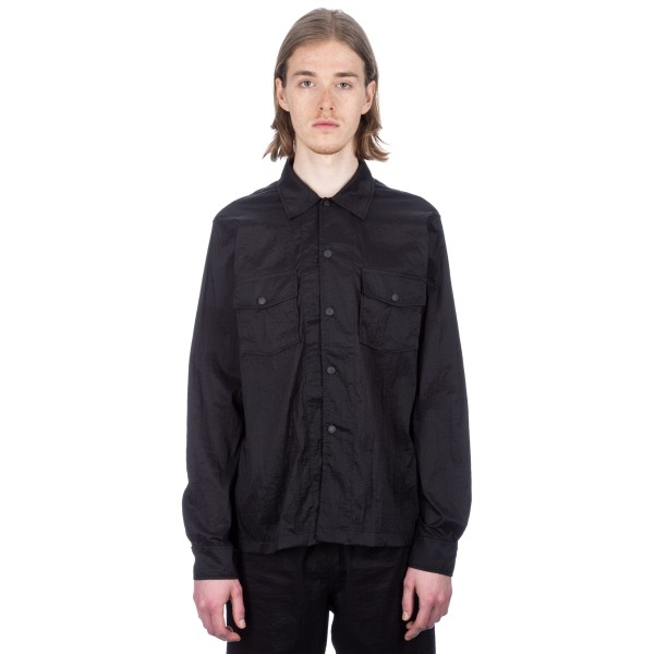 Our Legacy Chamois Shirt (Black Parachute Nylon)