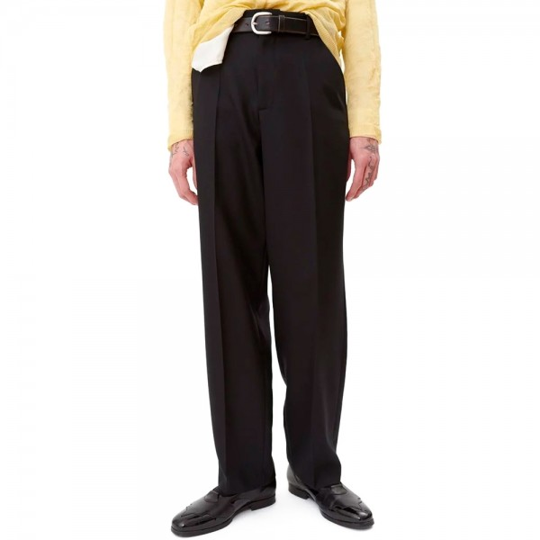 Our Legacy Chino 22 (Black Panama Wool)