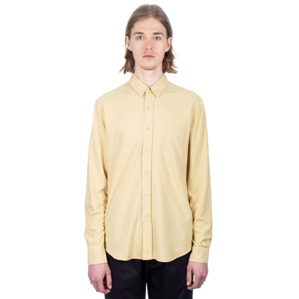 Our Legacy Classic Shirt (Fade Yellow Silk)