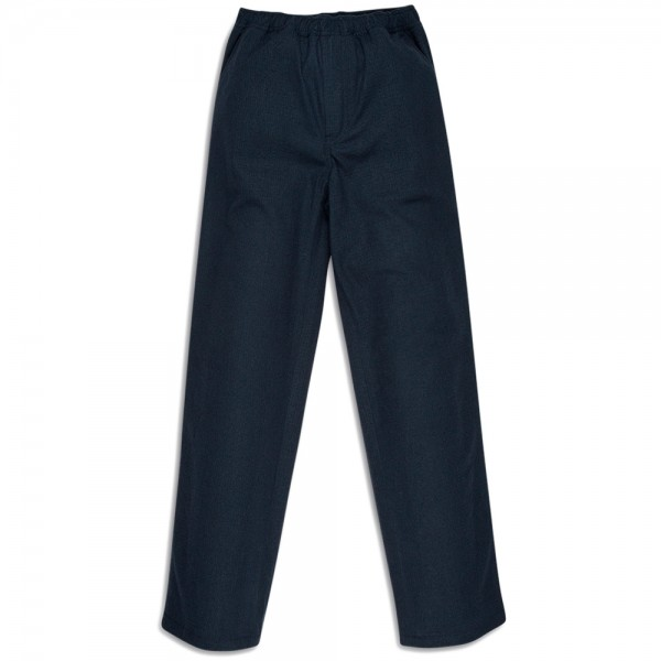 Our Legacy Relaxed Trousers (Navy Fleece Light Wool)